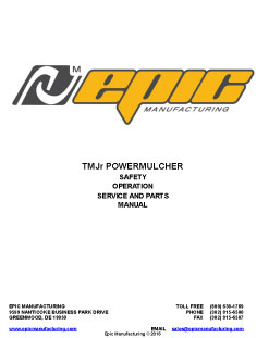 2375_epic-manual-tmjr Powermulcher For Sale |TMJr | Perfect For Small Hydromulching Jobs