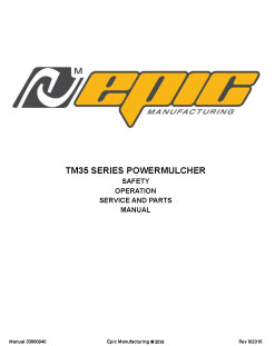 2373_epic-manual-tm35 Reinco Straw Blowers for Sale | TM35 | Trailer Mounted Hydromulcher