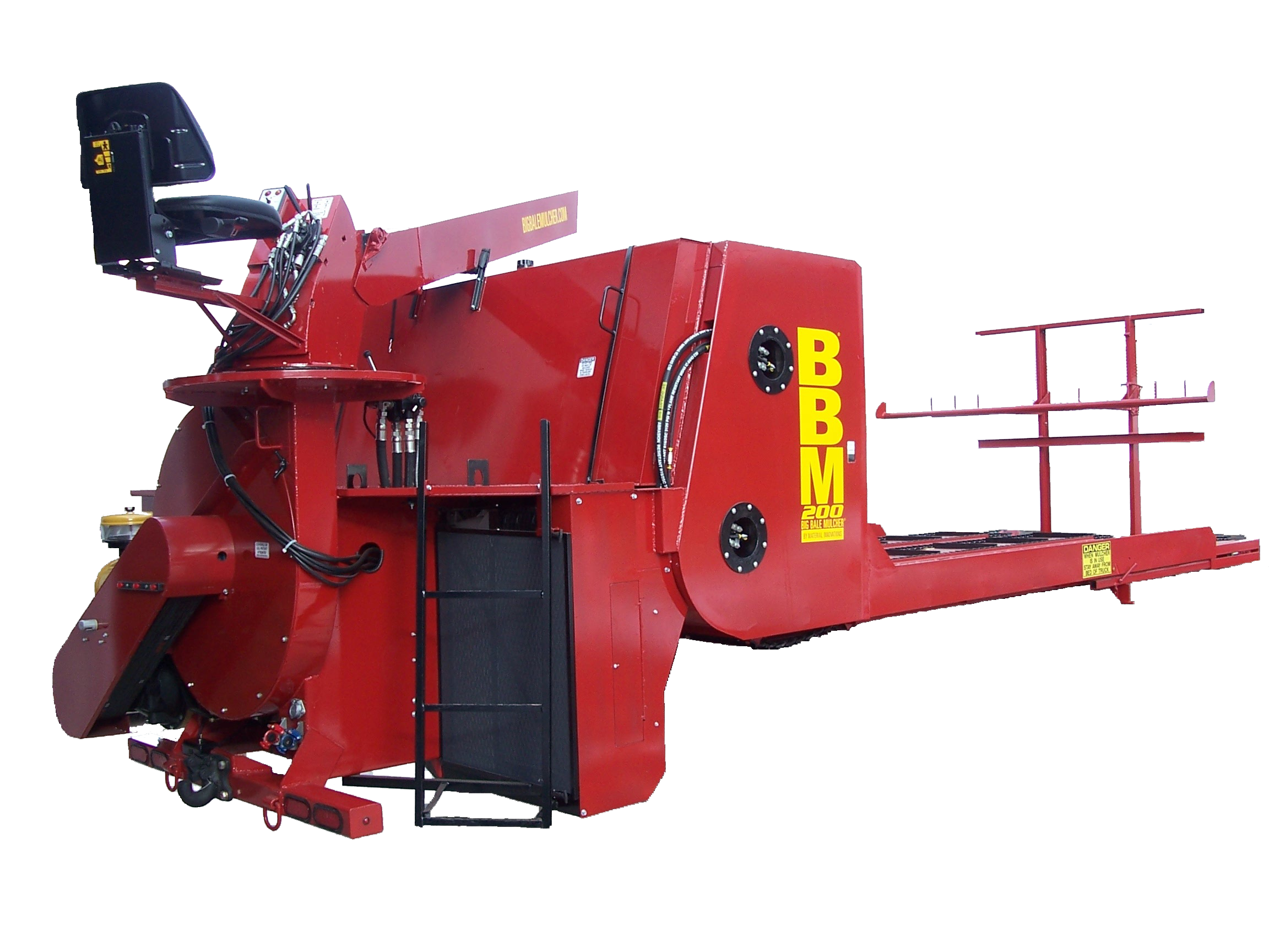 2435_bbm-2000-nbg BBM200 Big Bale Mulcher | 30 Ton Hay Blower | 200 HP StrawBlower
