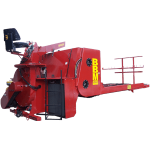 209_bbm200 BBM200 Big Bale Mulcher | 30 Ton Hay Blower | 200 HP StrawBlower